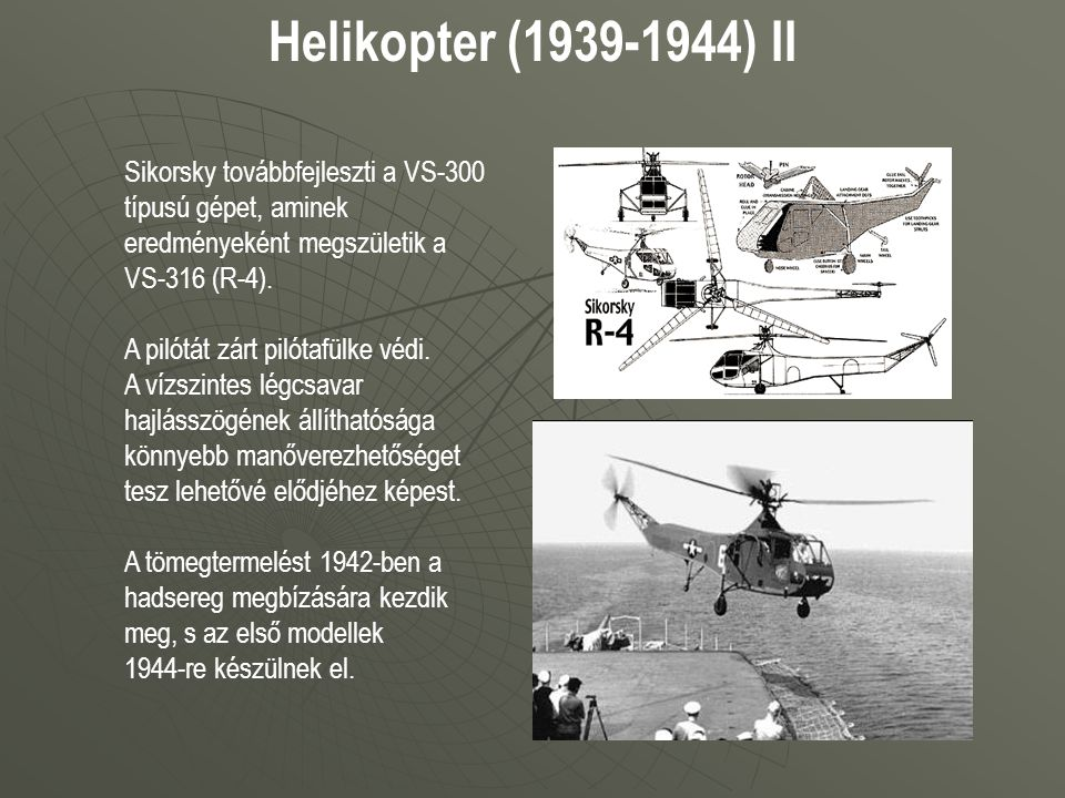 Helikopter (1939-1944) II