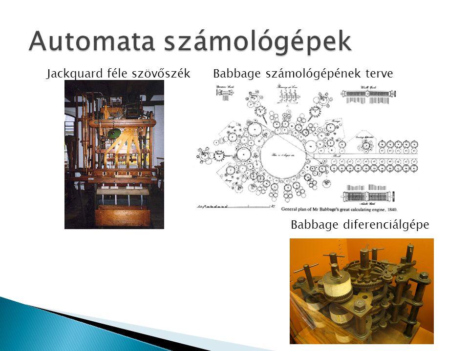 Automata számológépek