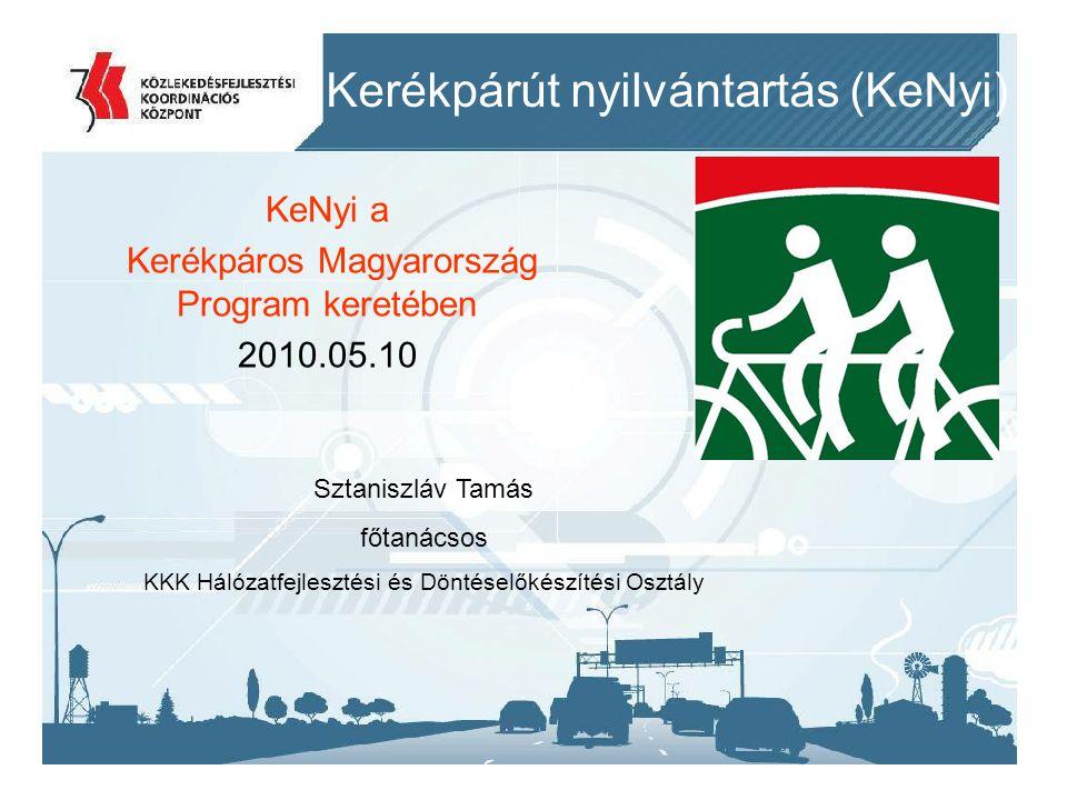 Kerékpárút nyilvántartás (KeNyi)