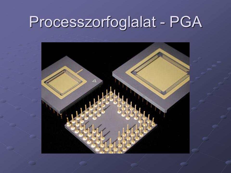 Processzorfoglalat - PGA