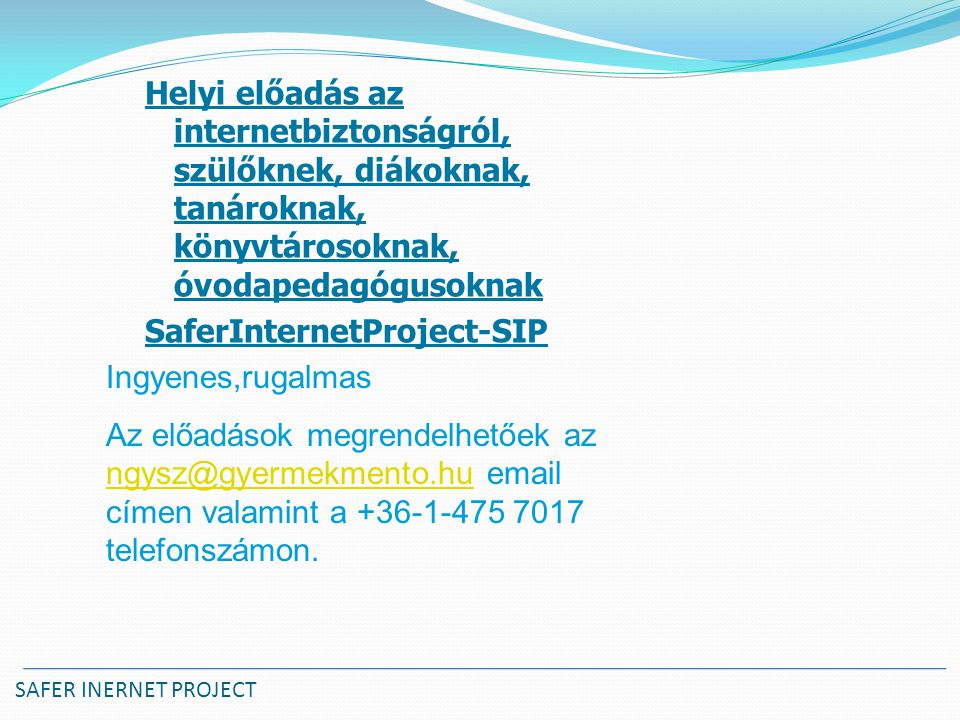 SaferInternetProject-SIP