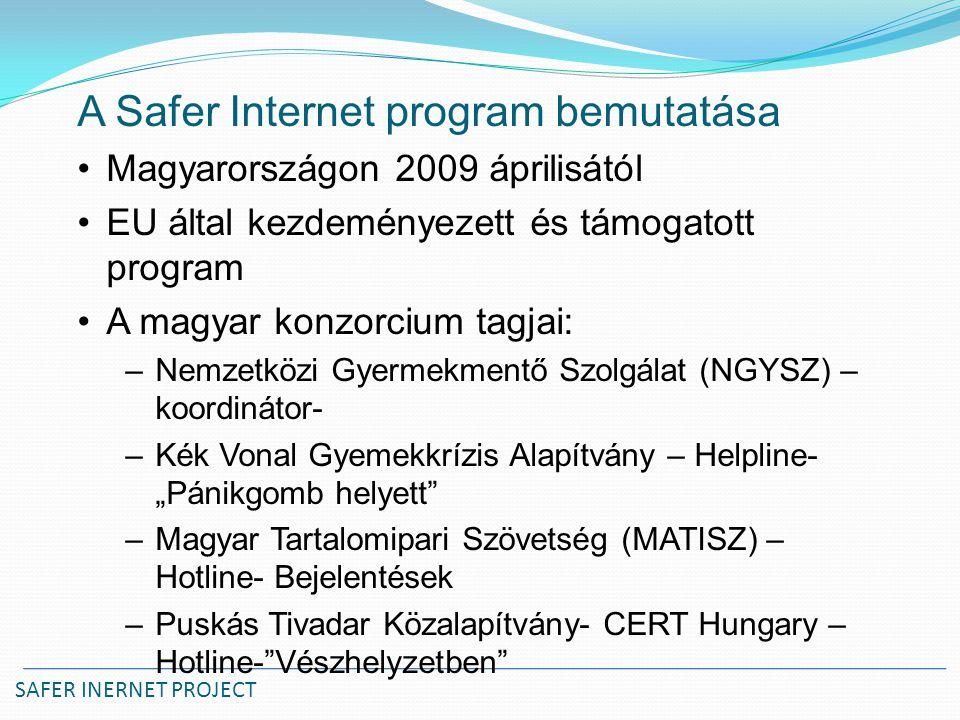 A Safer Internet program bemutatása
