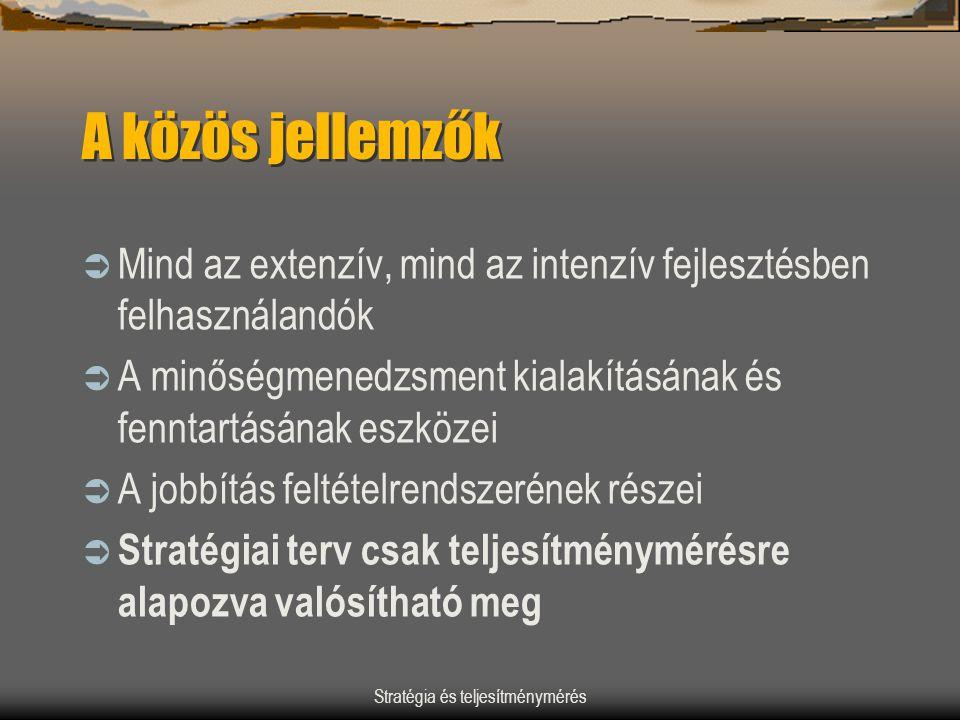 Stratégia és teljesítménymérés