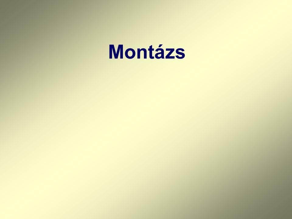 Montázs