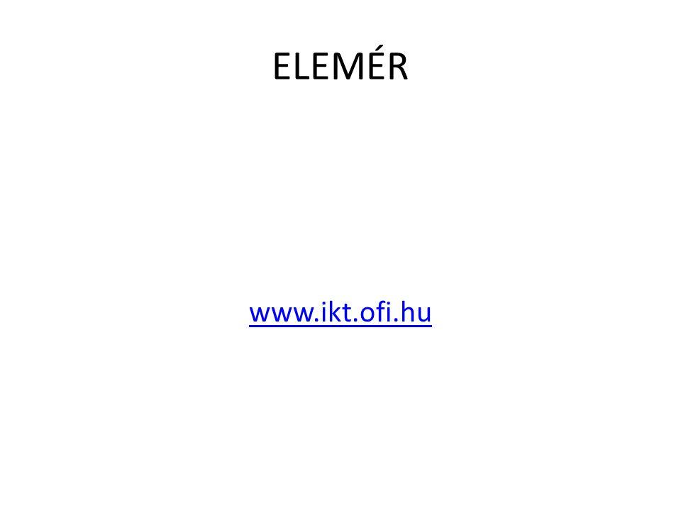 ELEMÉR www.ikt.ofi.hu