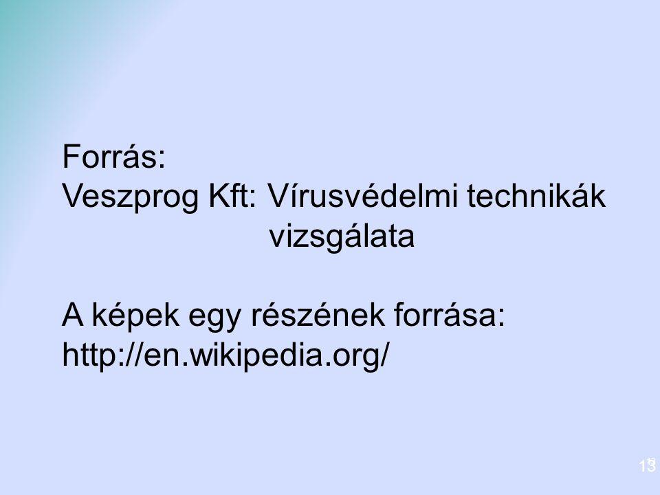 Veszprog Kft: Vírusvédelmi technikák vizsgálata
