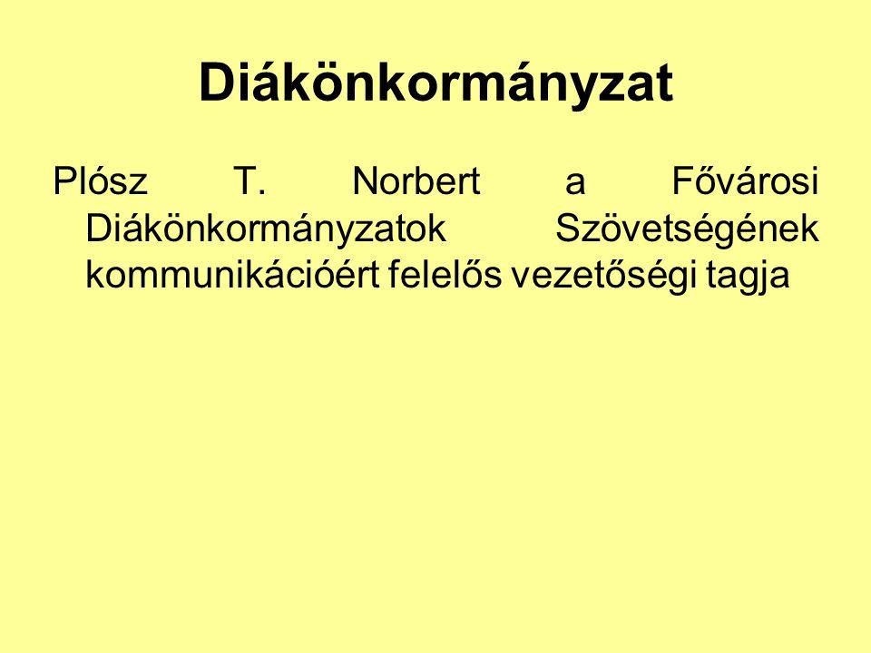 Diákönkormányzat Plósz T.