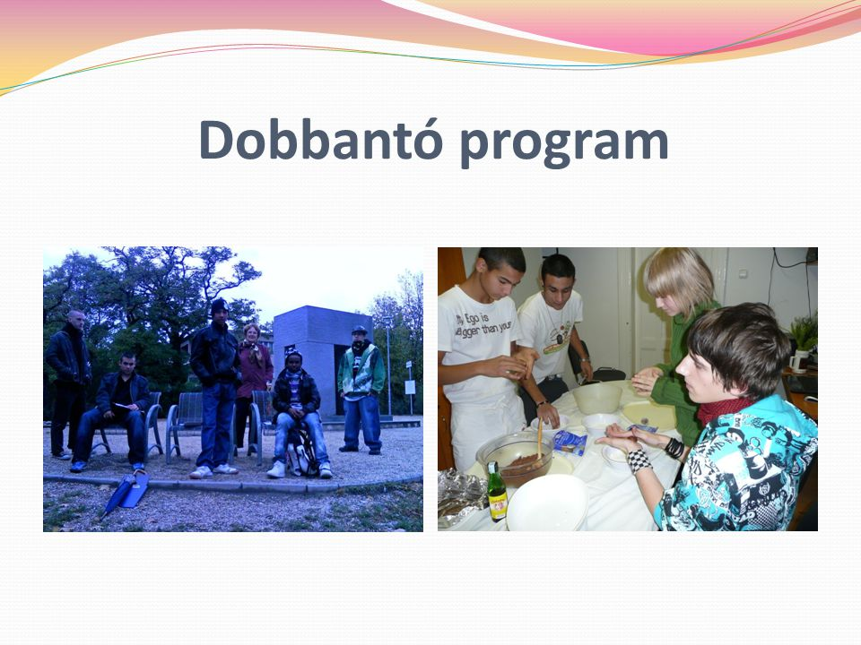 Dobbantó program