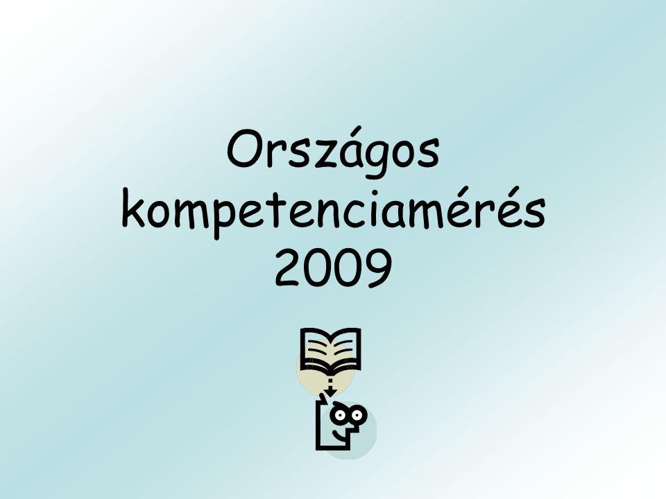 Országos kompetenciamérés 2009