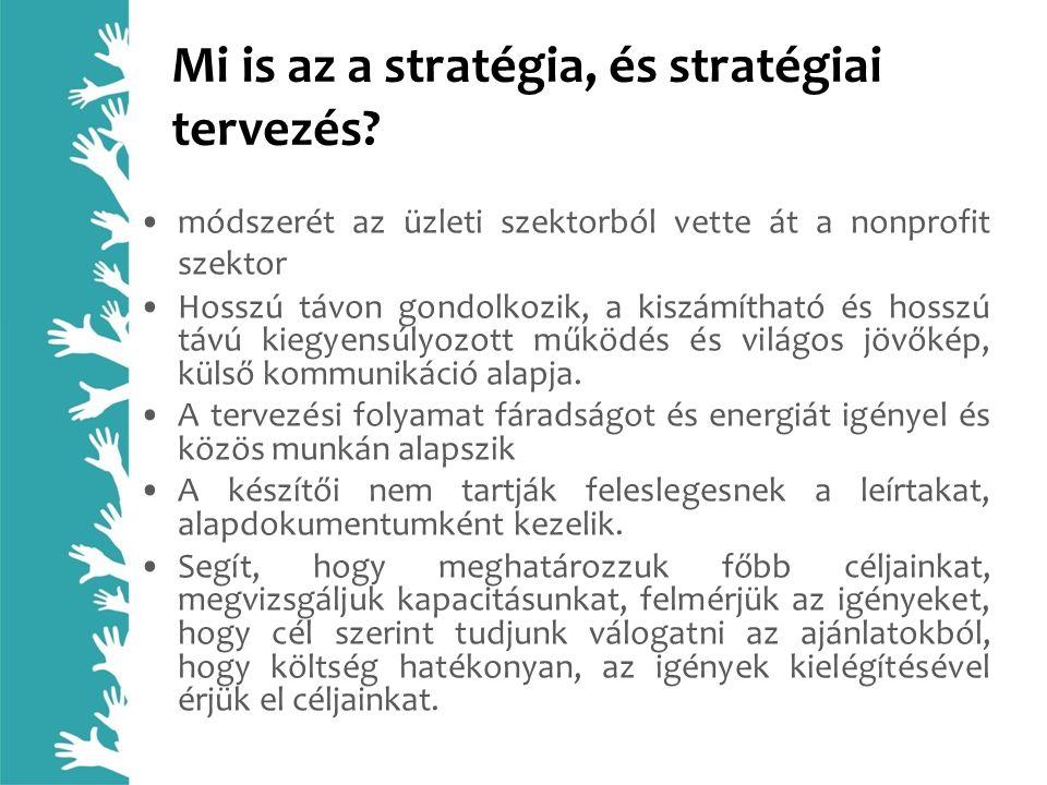 Mi is az a stratégia, és stratégiai tervezés