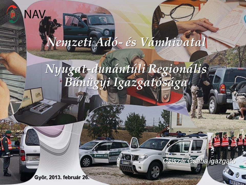 Győr, 2013. február 26. Nemzeti Adó- és Vámhivatal