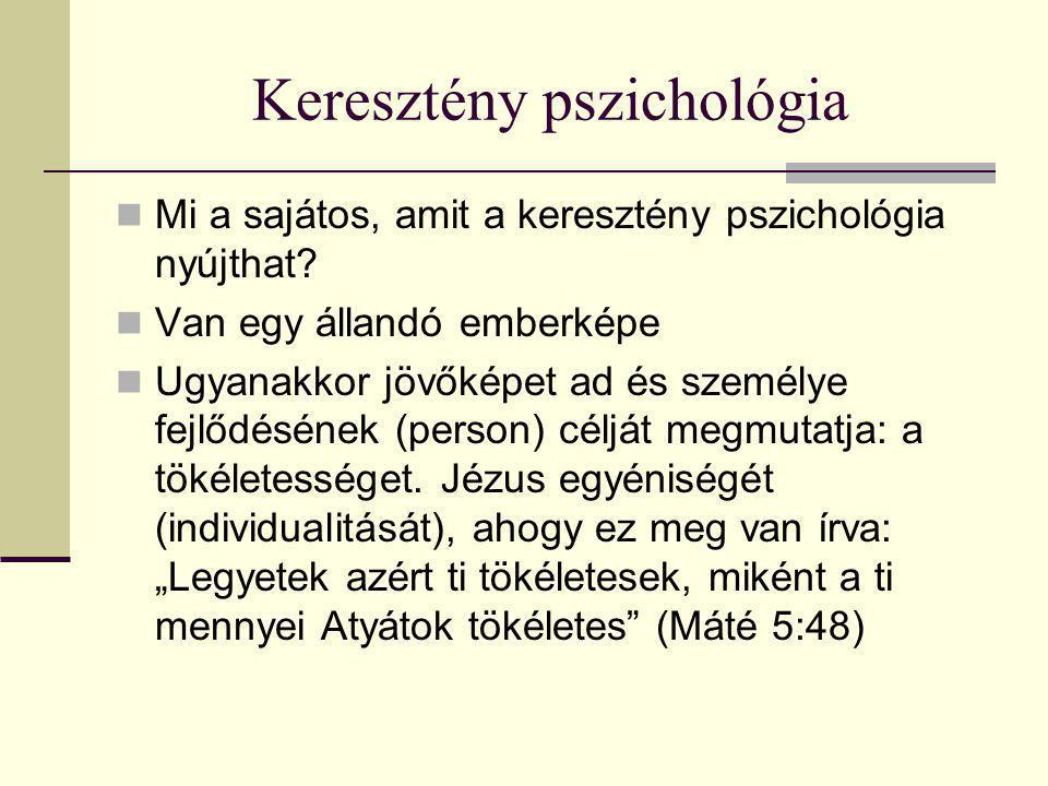 Keresztény pszichológia