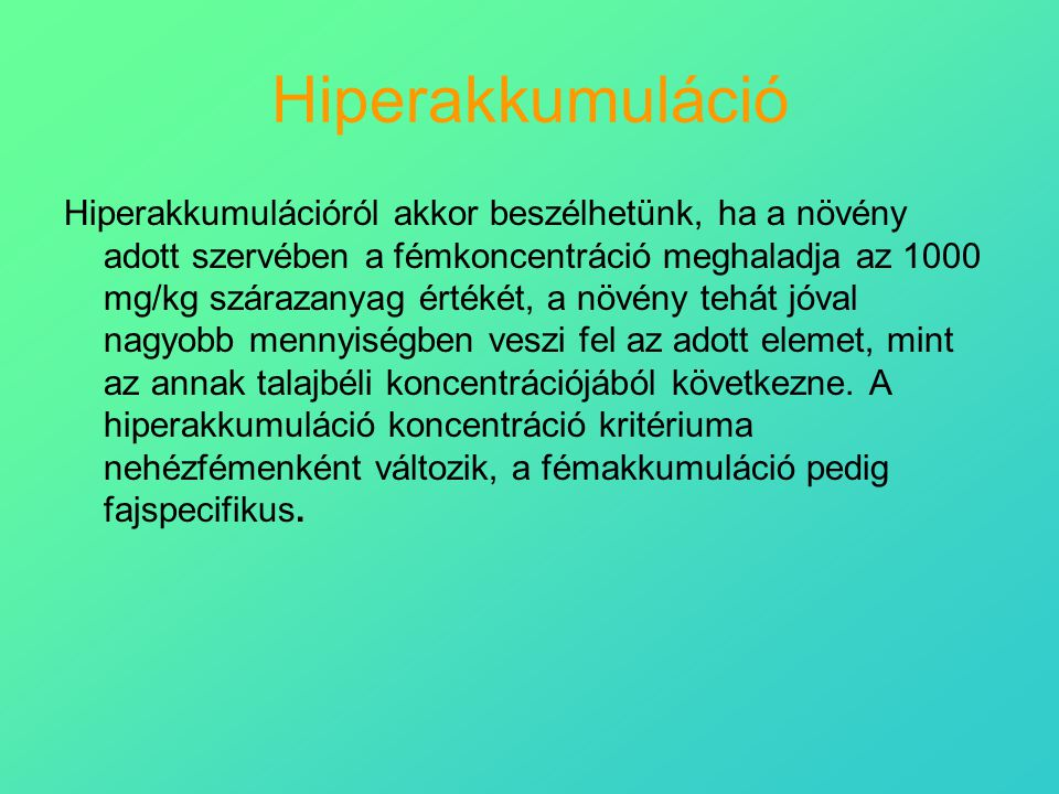 Hiperakkumuláció