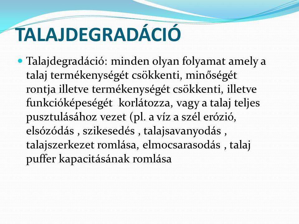 TALAJDEGRADÁCIÓ