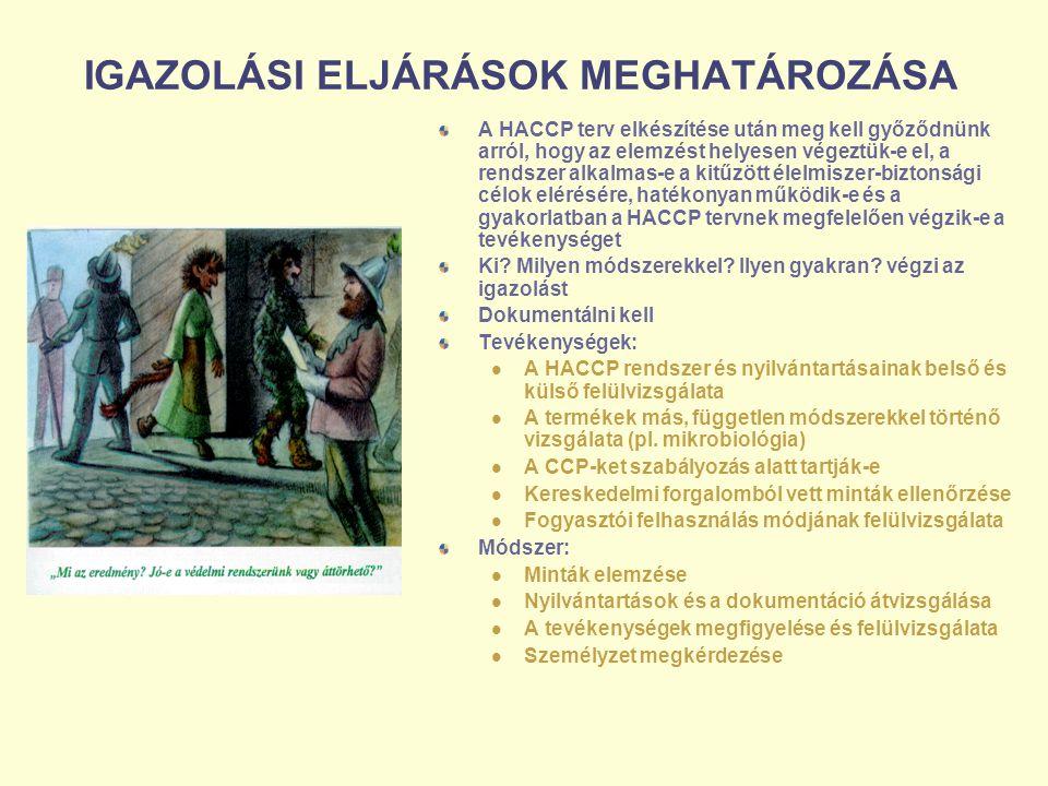 IGAZOLÁSI ELJÁRÁSOK MEGHATÁROZÁSA