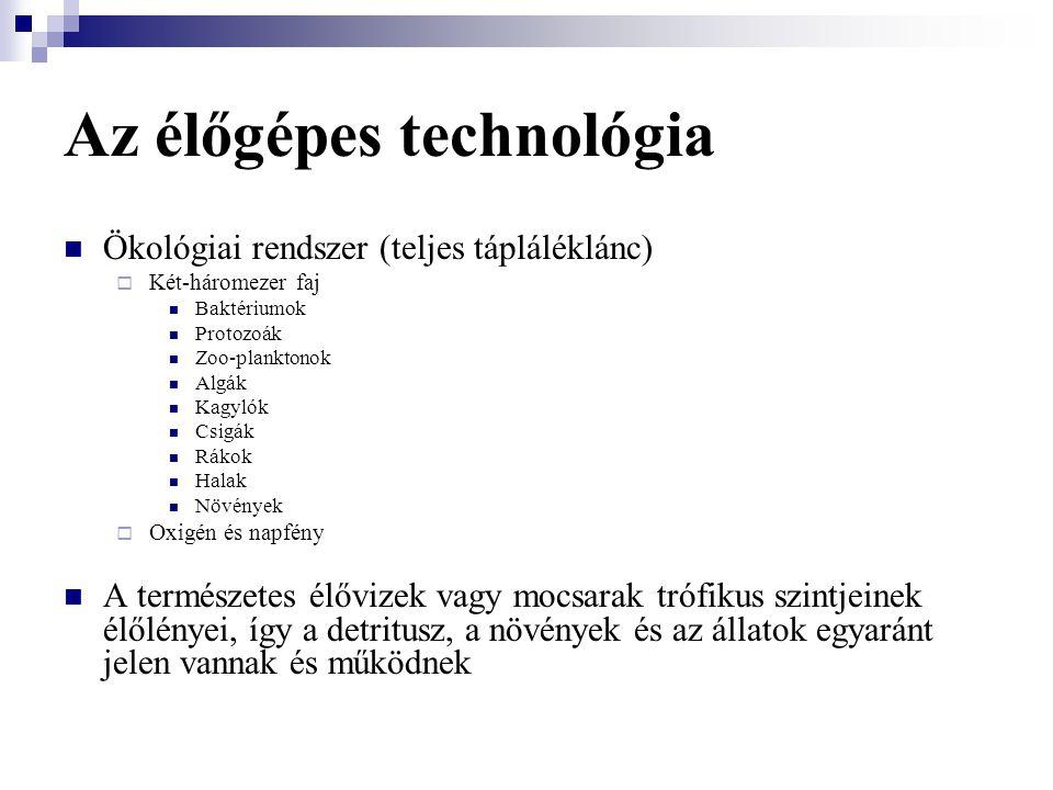 Az élőgépes technológia