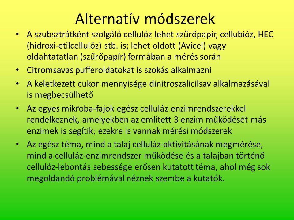 Alternatív módszerek