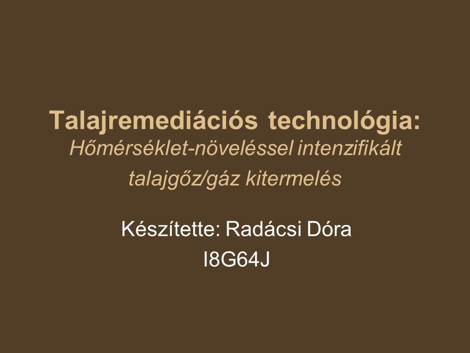 Készítette: Radácsi Dóra I8G64J