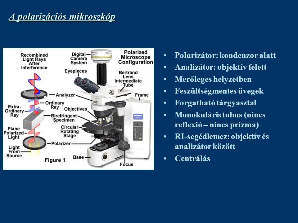 A polarizációs mikroszkóp