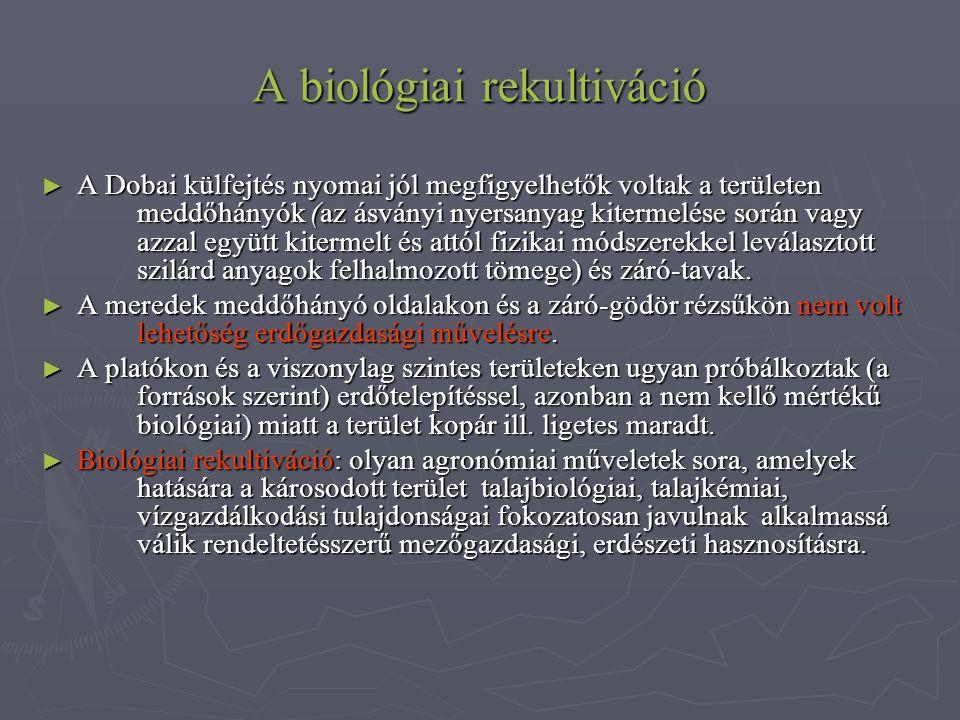 A biológiai rekultiváció