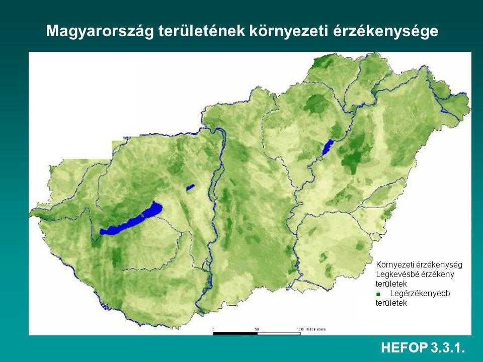 Magyarország területének környezeti érzékenysége