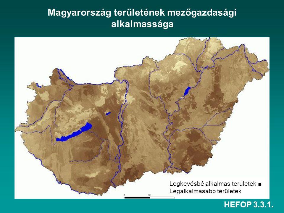 Magyarország területének mezőgazdasági alkalmassága
