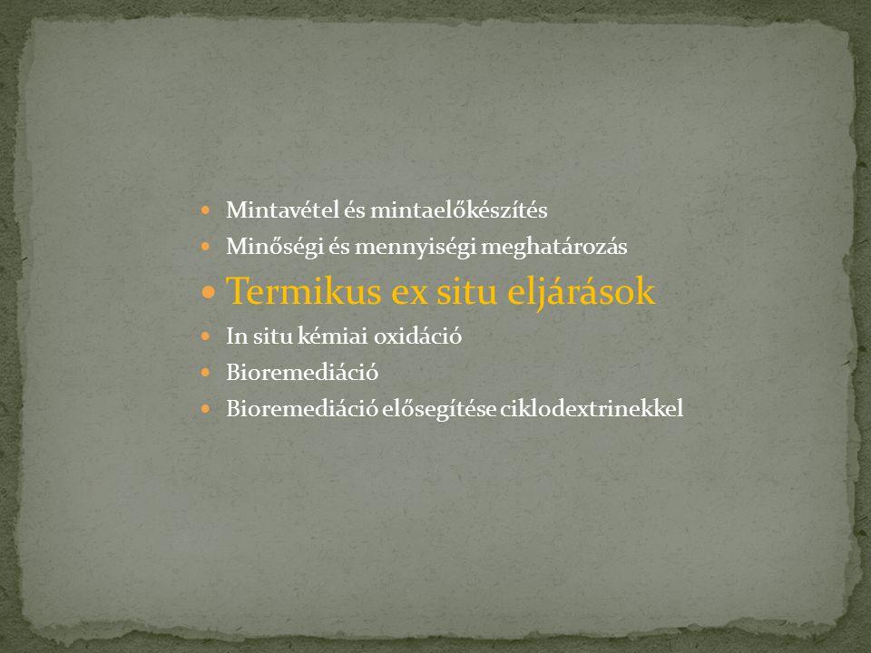Termikus ex situ eljárások