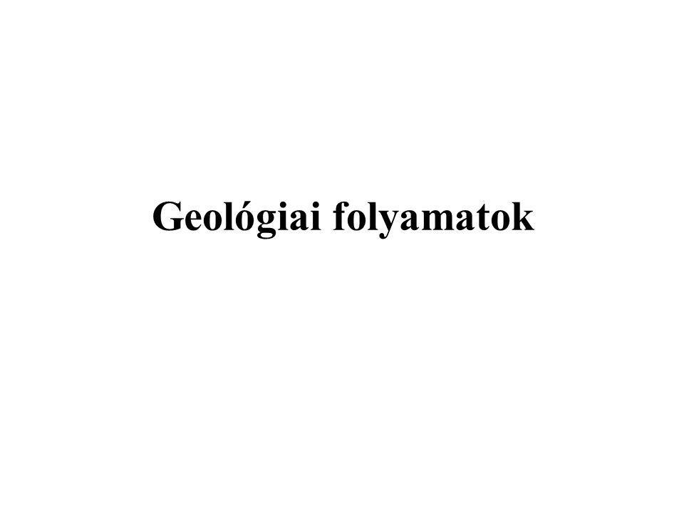 Geológiai folyamatok