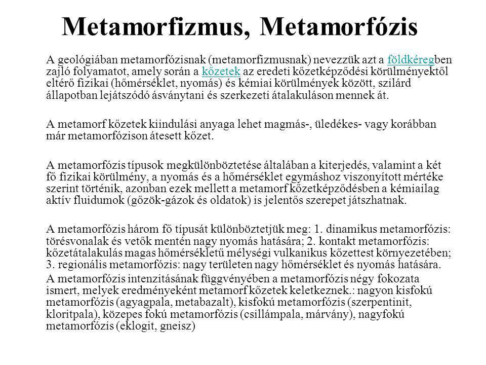 Metamorfizmus, Metamorfózis