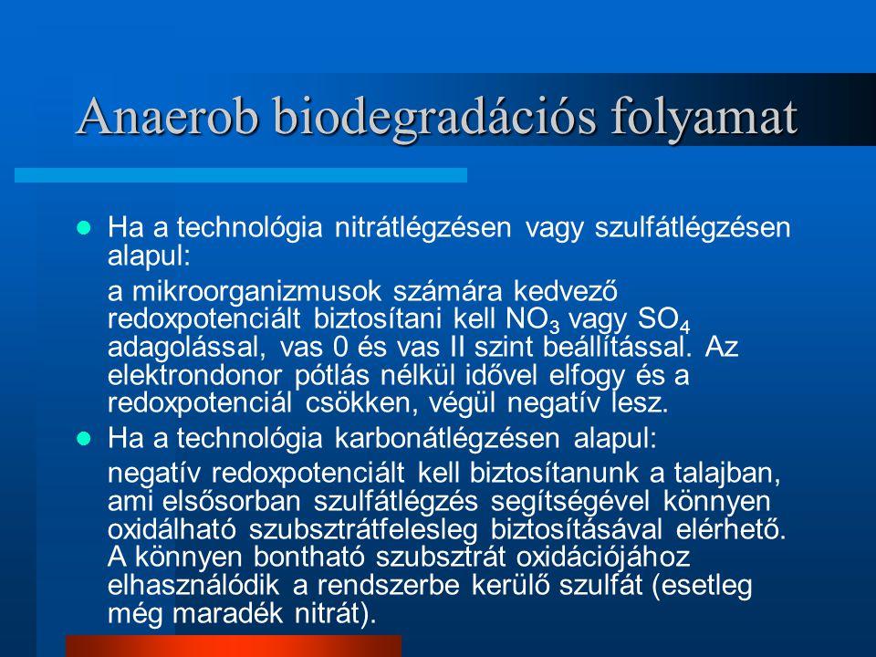 Anaerob biodegradációs folyamat