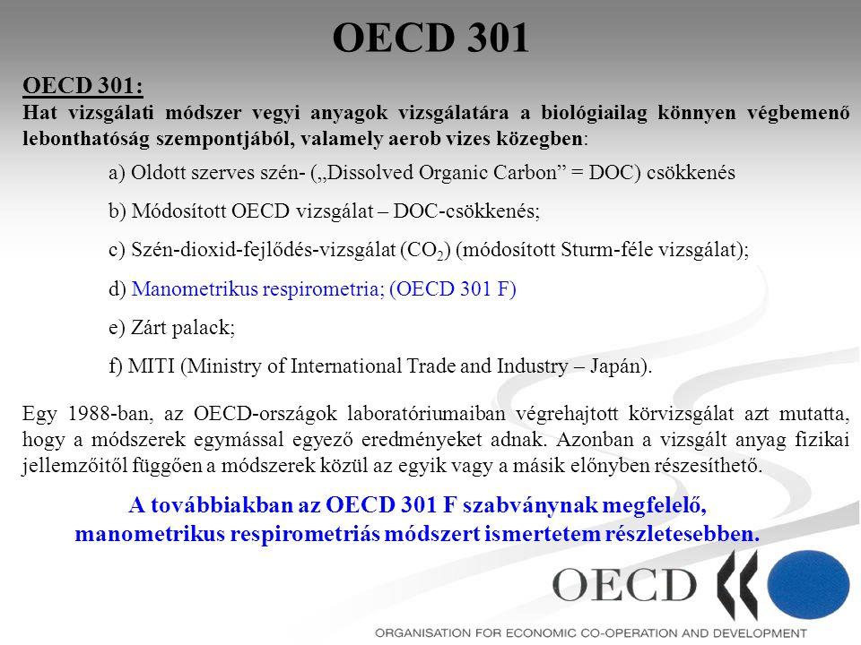 OECD 301 OECD 301: