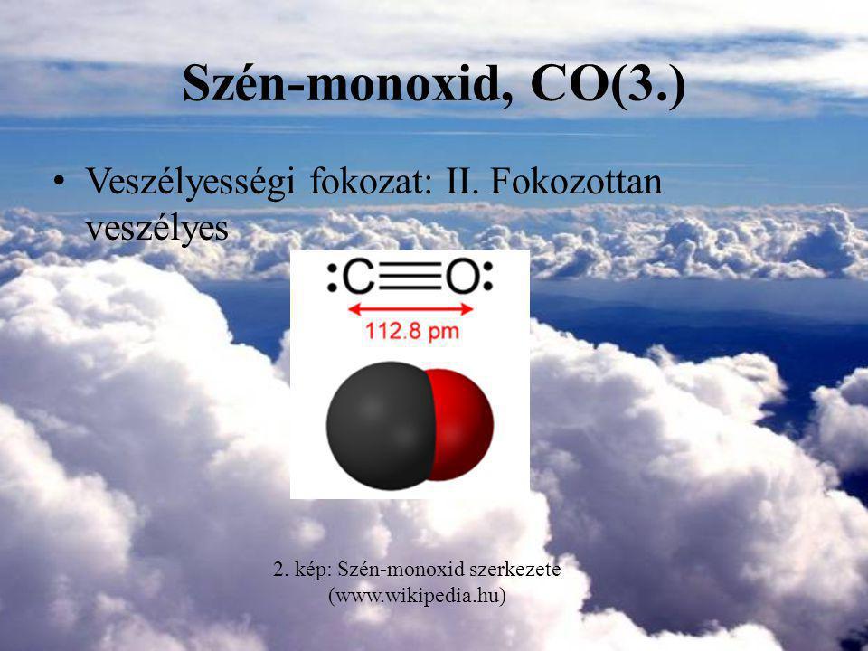 2. kép: Szén-monoxid szerkezete (www.wikipedia.hu)