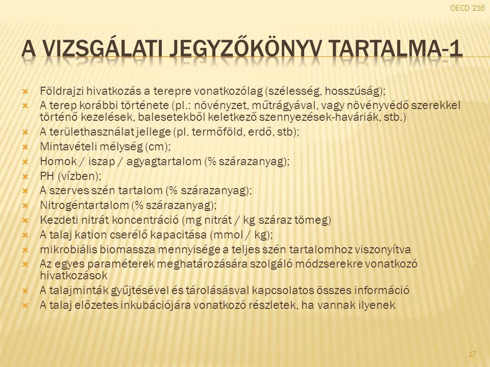 A vizsgálati jegyzőkönyv tartalma-1