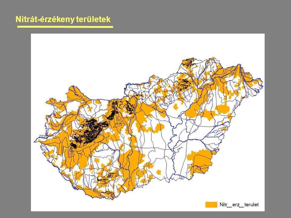 Nitrát-érzékeny területek