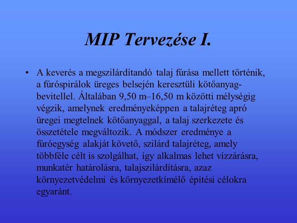 MIP Tervezése I.