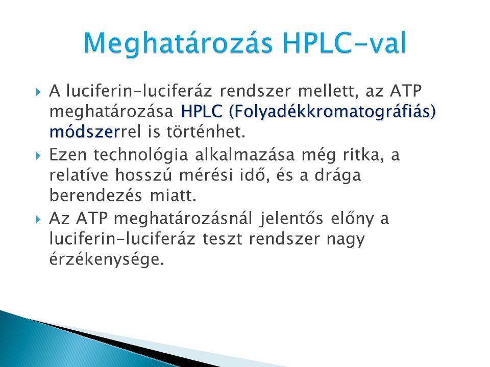 Meghatározás HPLC-val