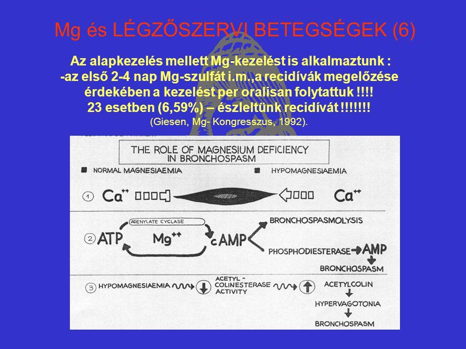 Mg és LÉGZŐSZERVI BETEGSÉGEK (6)