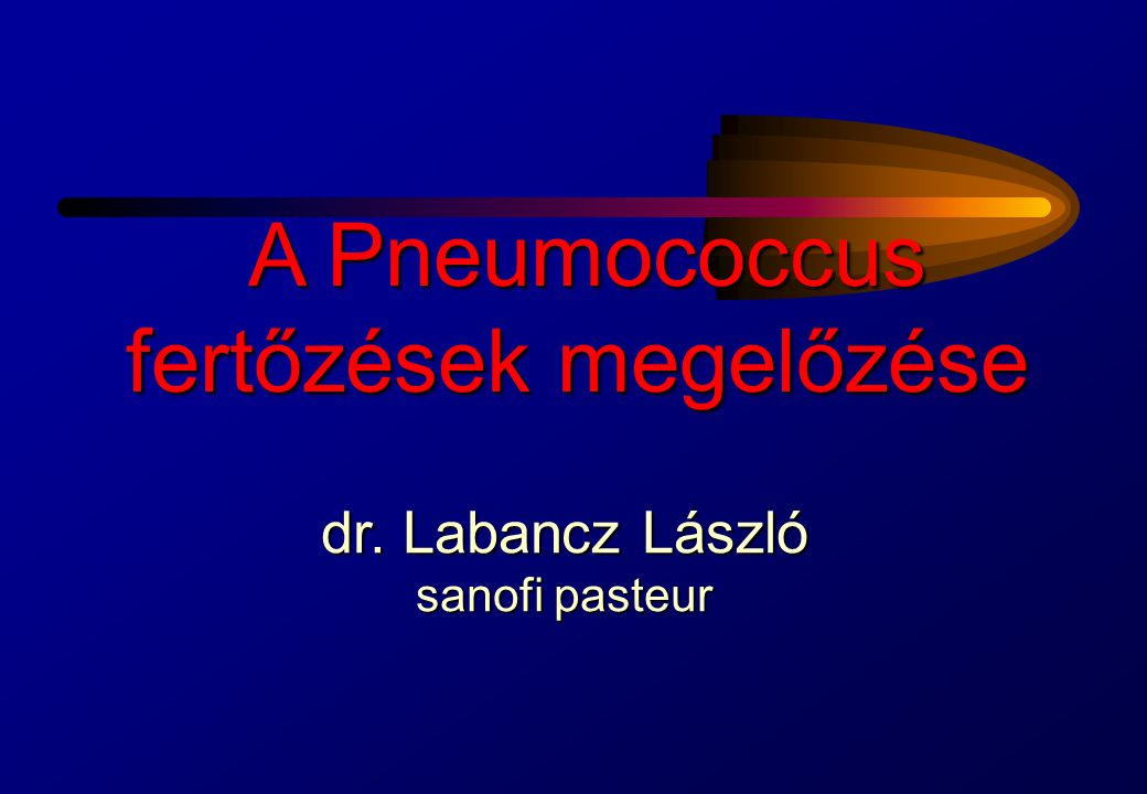 A Pneumococcus fertőzések megelőzése