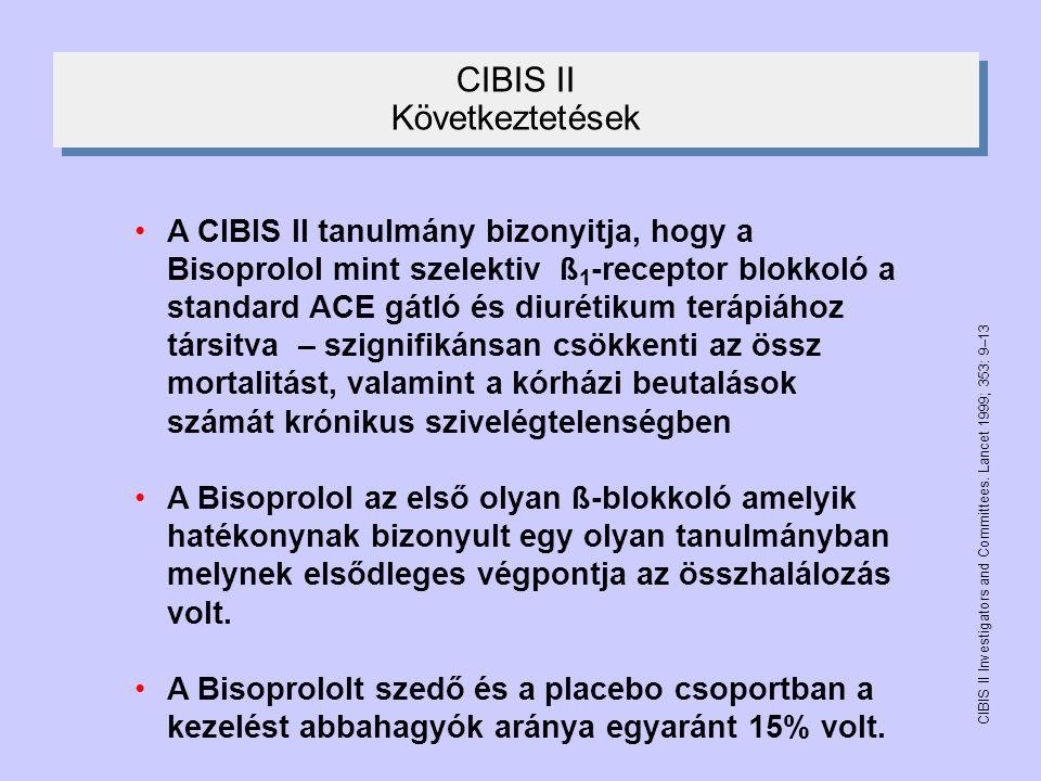 CIBIS II Következtetések