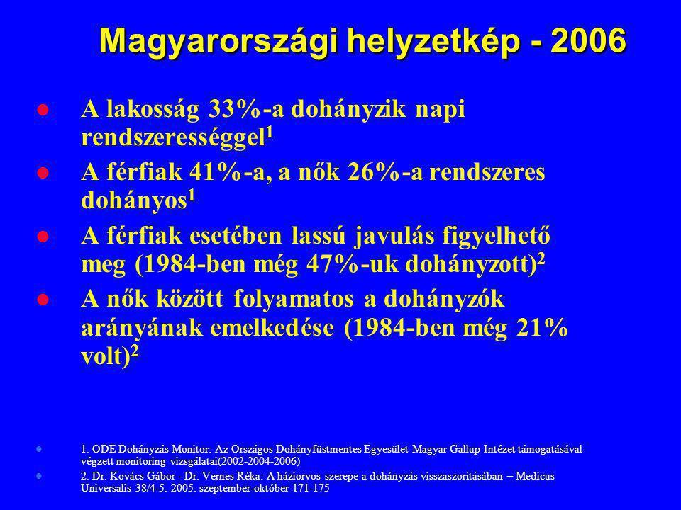 Magyarországi helyzetkép - 2006