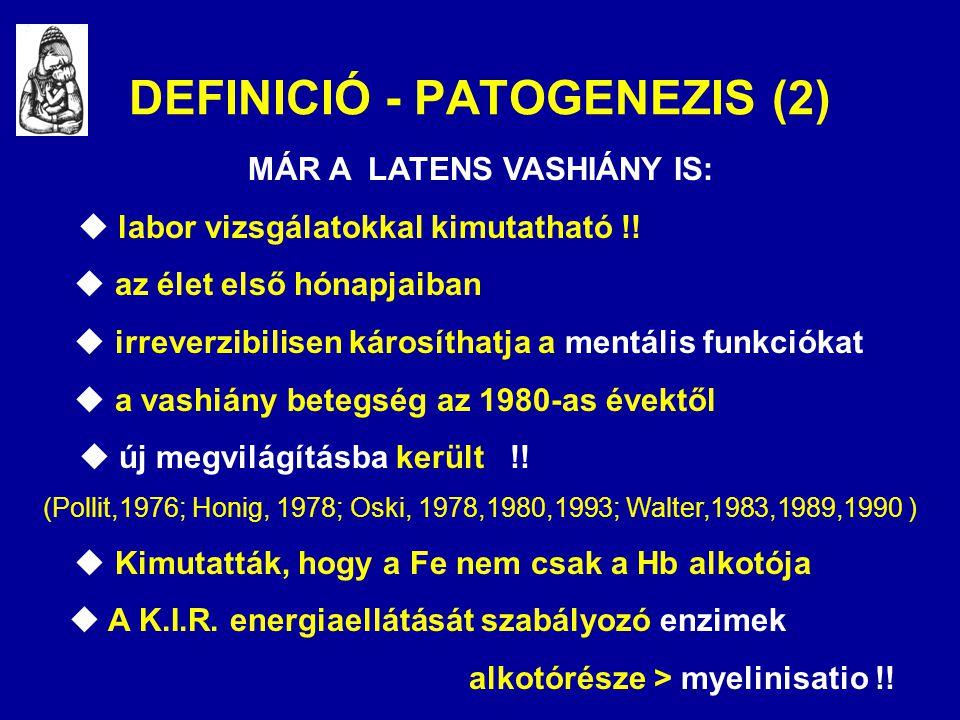 DEFINICIÓ - PATOGENEZIS (2)