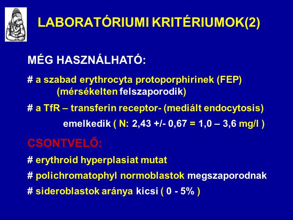 LABORATÓRIUMI KRITÉRIUMOK(2)