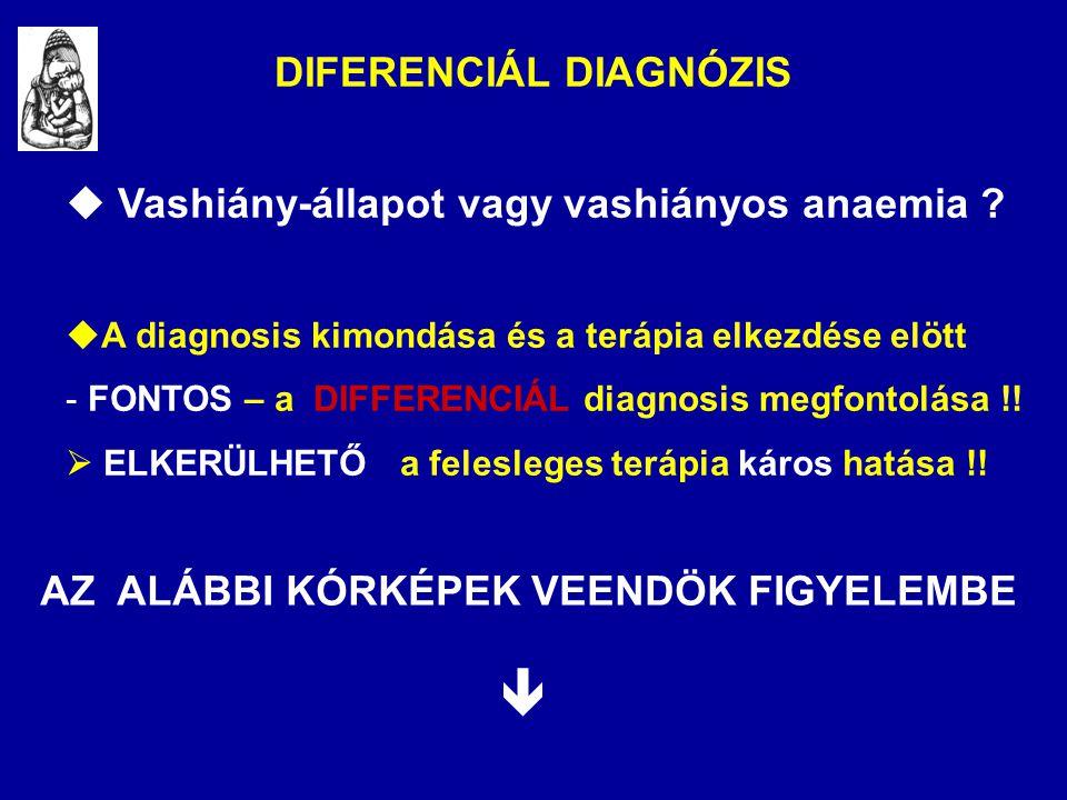DIFERENCIÁL DIAGNÓZIS