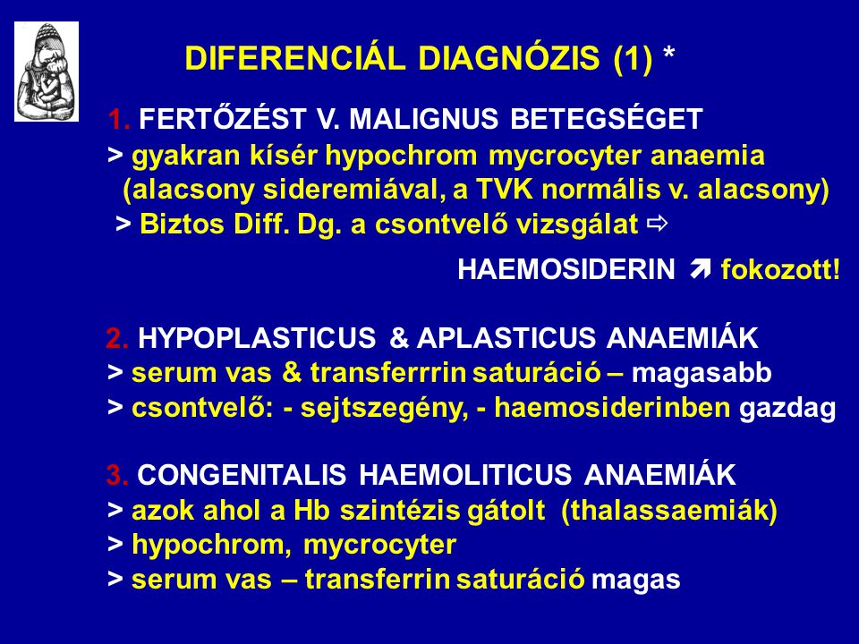DIFERENCIÁL DIAGNÓZIS (1) *