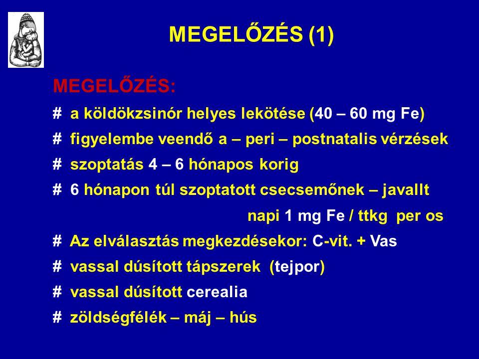 MEGELŐZÉS (1) MEGELŐZÉS: