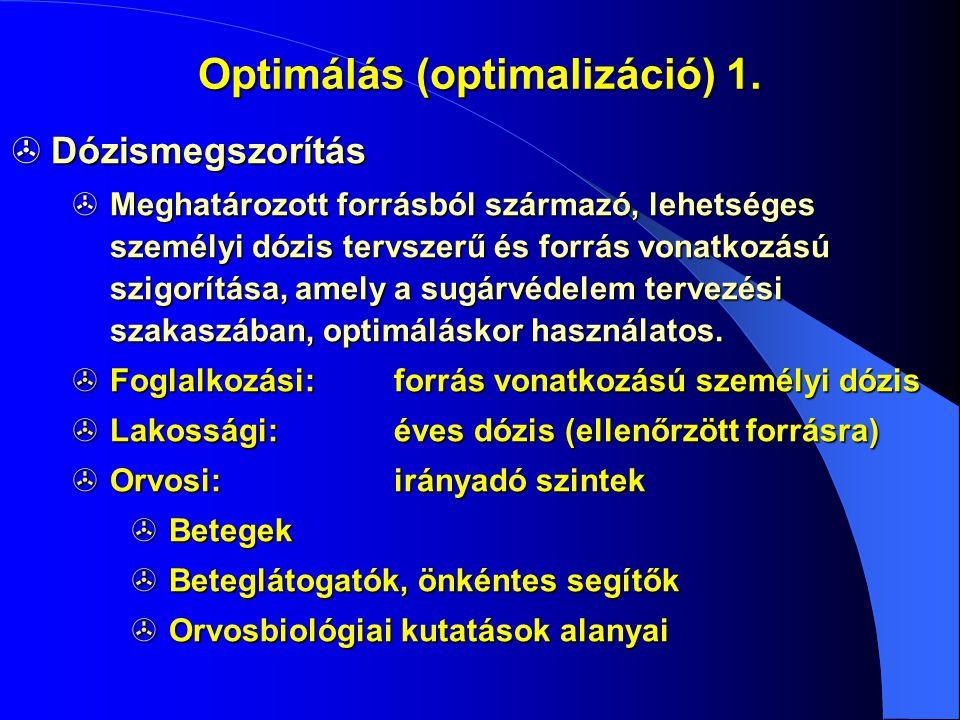Optimálás (optimalizáció) 1.