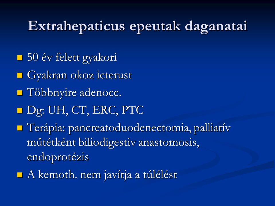 Extrahepaticus epeutak daganatai