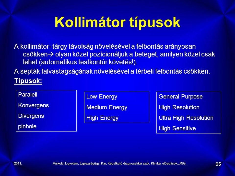 Kollimátor típusok