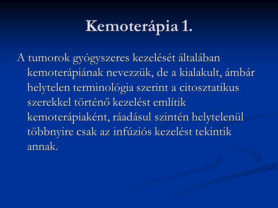 Kemoterápia 1.