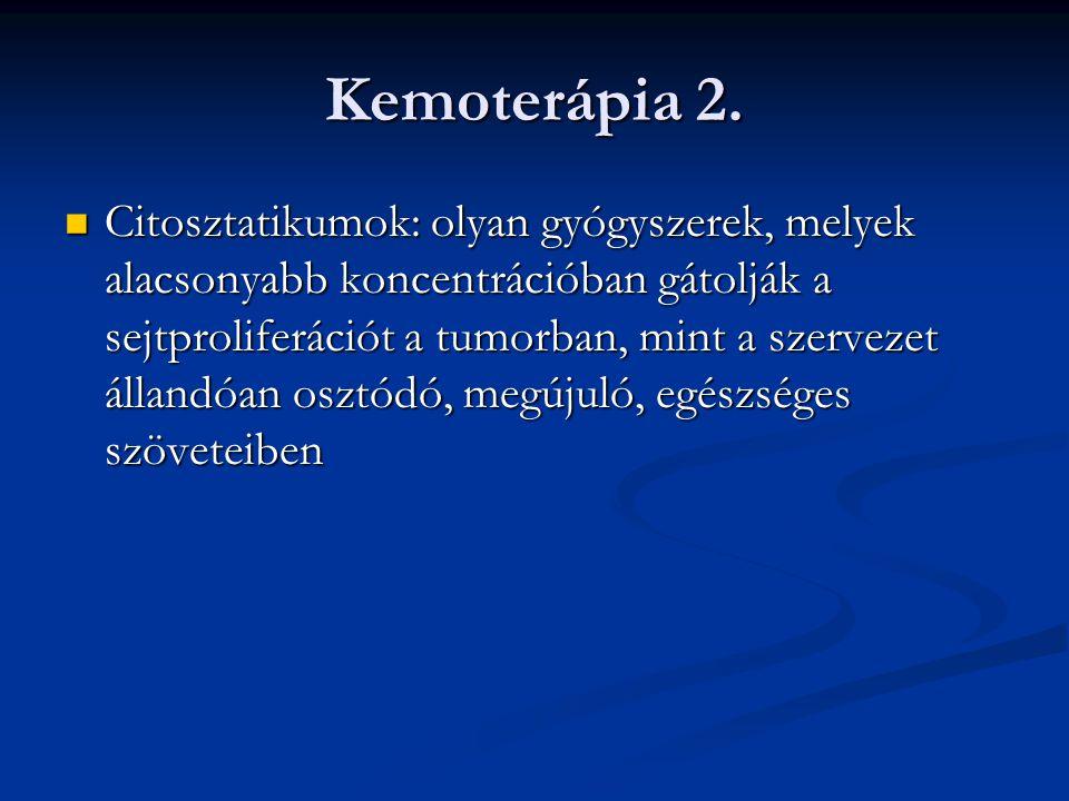 Kemoterápia 2.